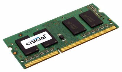 Fotografija izdelka CRUCIAL SODIMM 4GB 1600MHz 1,35V DDR3L (CT51264BF160BJ) ram pomnilnik