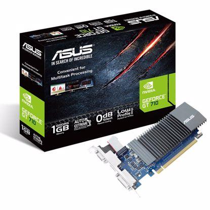 Fotografija izdelka ASUS GeForce GT710 1GB DDR5 silent (GT710-SL-1GD5) grafična kartica