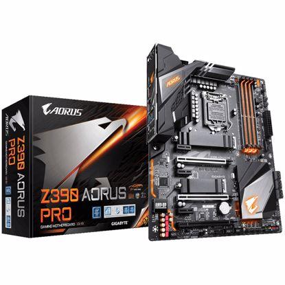 Fotografija izdelka GIGABYTE Z390 AORUS PRO LGA1151 (9th/8th-gen) ATX DDR4 RGB gaming matična plošča