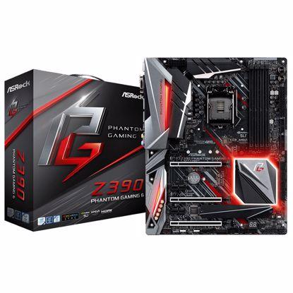 Fotografija izdelka ASROCK Z390 Phantom Gaming 6 LGA1151 (9th/8th-gen) ATX DDR4 RGB matična plošča