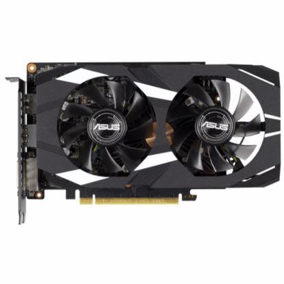 Fotografija izdelka ASUS Geforce GTX 1660 Ti DUAL OC 6GB GDDR6 (DUAL-GTX1660TI-O6G) grafična kartica