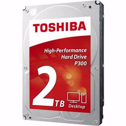 "Fotografija izdelka TOSHIBA P300 2TB 3,5"" SATA3 64MB 7200rpm (HDWD120UZSVA) bulk trdi disk"