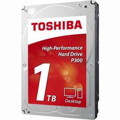 "Fotografija izdelka TOSHIBA P300 1TB 3,5"" SATA3 64MB 7200obr/min (HDWD110UZSVA) trdi disk"