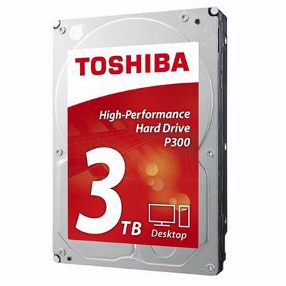 "Fotografija izdelka TOSHIBA P300 3TB 3,5"" SATA3 64MB 7200rpm (HDWD130UZSVA) trdi disk"