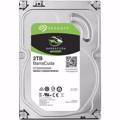 """Fotografija izdelka SEAGATE BarraCuda 2TB 3,5"""" SATA3 256MB 7200 (ST2000DM008) trdi disk"""