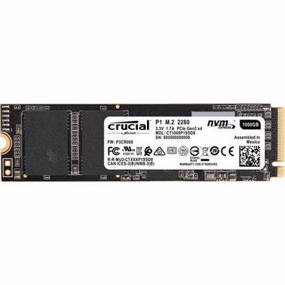 Fotografija izdelka CRUCIAL P1 1TB M.2 2280 NVMe PCIe (CT1000P1SSD8) SSD