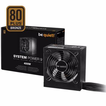 Fotografija izdelka BE QUIET! System Power 9 400W (BN245) 80Plus Bronze ATX napajalnik