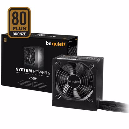 Fotografija izdelka BE QUIET! System Power 9 700W (BN248) 80Plus Bronze ATX napajalnik