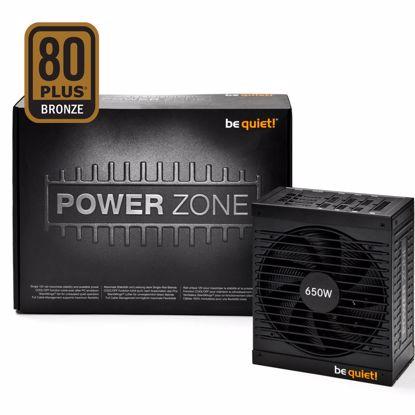 Fotografija izdelka BE QUIET! POWER ZONE 650W CM (BN210) 80Plus Bronze modularni ATX napajalnik
