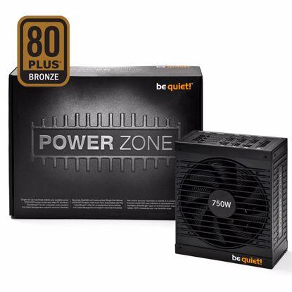 Fotografija izdelka BE QUIET! POWER ZONE 750W CM (BN211) 80Plus Bronze modularni ATX napajalnik