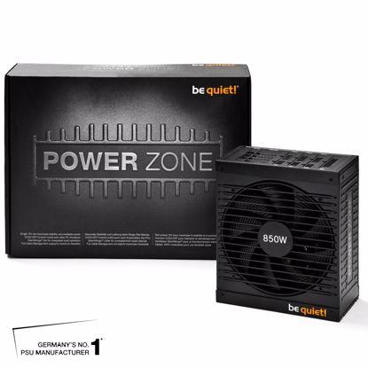 Fotografija izdelka BE QUIET! POWER ZONE 850W CM (BN212) 80Plus Bronze modularni ATX napajalnik