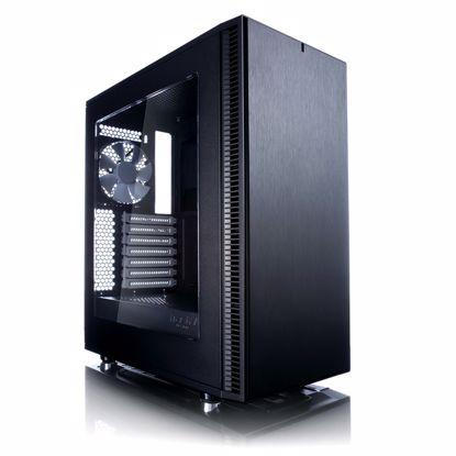 Fotografija izdelka FRACTAL DESIGN Define C MicroATX črno ohišje