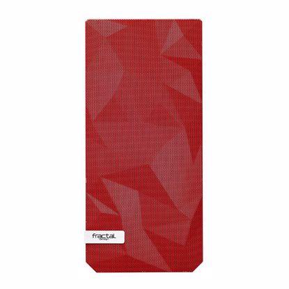Fotografija izdelka FRACTAL DESIGN sprednji panel za ohišje za ohišje Meshify C, rdeča barva