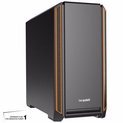 Fotografija izdelka BE QUIET! SILENT BASE 601 (BG025) midiATX črno/oranžno ohišje