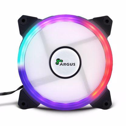 Fotografija izdelka INTER-TECH Argus RS01 RGB 120 mm LED ventilator