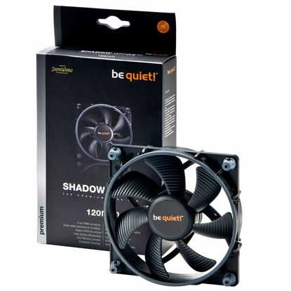 Fotografija izdelka BE QUIET! Shadow Wings (BL026) 120mm 4-pin PWM ventilator