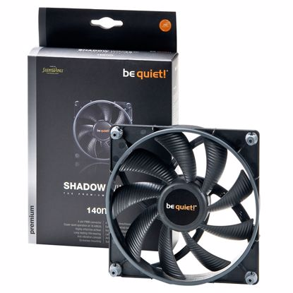 Fotografija izdelka BE QUIET! Shadow Wings (BL027) 140mm 4-pin PWM ventilator