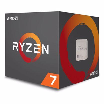 Fotografija izdelka AMD Ryzen 7 2700X 3,7/4,3GHz 20MB AM4 Wraith Prism hladilnik BOX procesor