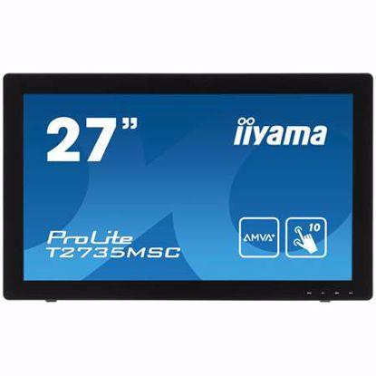 """Fotografija izdelka IIYAMA ProLite T2735MSC-B2 69cm (27"""") FHD AMVA+ P-CAP zvočniki na dotik LED LCD monitor"""