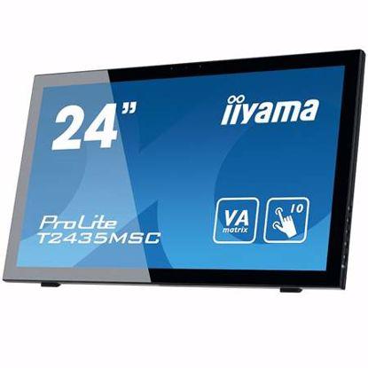 """Fotografija izdelka IIYAMA ProLite T2435MSC-B2 60cm (23,6"""") VA LED P-CAP s kamero na dotik LCD monitor"""