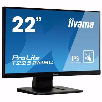 "Fotografija izdelka IIYAMA ProLite T2252MSC-B1 54,7cm (21,5"") FHD IPS P-CAP na dotik LED LCD monitor"