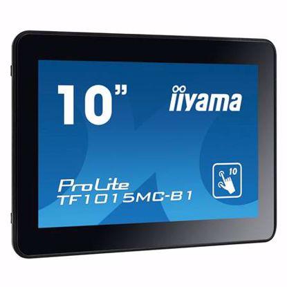 "Fotografija izdelka IIYAMA ProLite TF1015MC-B1 25,7cm (10,1"") FHD AMVA3 LED LCD open frame na dotik LED monitor"