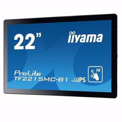 "Fotografija izdelka IIYAMA ProLite TF2215MC-B1 54,6cm (21,5"") FHD AMVA3 LED LCD open frame na dotik LED monitor"