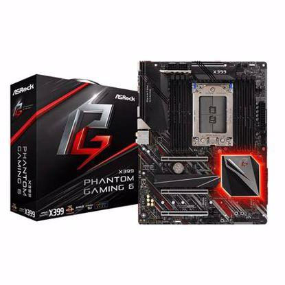 Fotografija izdelka ASROCK X399 Phantom Gaming 6 TR4 ATX DDR4 RGB matična plošča