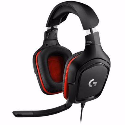 Fotografija izdelka LOGITECH G332 Gaming stereo z mikrofonom slušalke