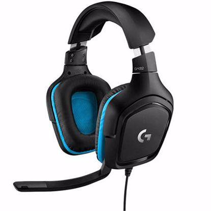 Fotografija izdelka LOGITECH G432 7.1 gaming z mikrofonom slušalke