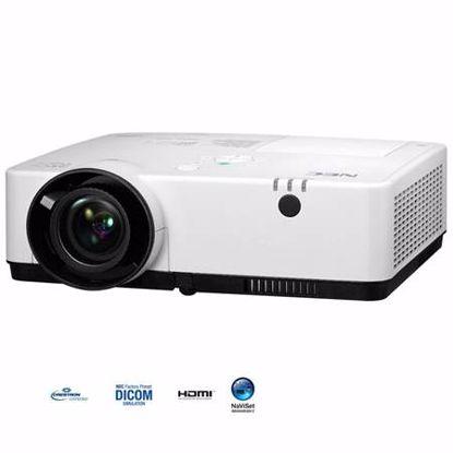 Fotografija izdelka NEC ME382U WUXGA 3800A 16000:1 3LCD profesionalni desktop projektor