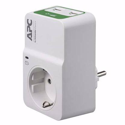 Fotografija izdelka APC Essential SurgeArrest PM1WU2-GR 1x Schuko prenapetostna zaščita