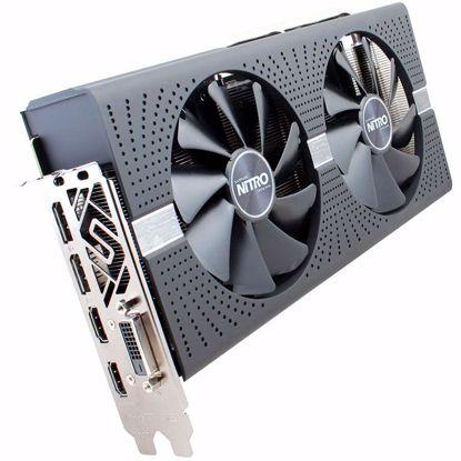 Fotografija izdelka SAPPHIRE Video Card AMD Radeon RX 560 4G GDDR5 DVI MINING UEFI 1300MHz / 1750MHz 128-bit 2 slot active