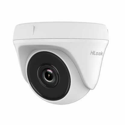 Fotografija izdelka Video kamera analogna zunanja TVI/AHD/ CVI/CVBS HiLook 2MP THC-T120-P 2.8mm