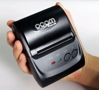 Fotografija izdelka Prenosni tiskalnik OCOM OCPP-M05 USB+BT, Android+IOS, 58mm + torbica