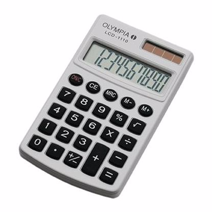 Fotografija izdelka Olympia Kalkulator LCD-1110 bel