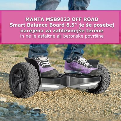 Fotografija izdelka MANTA MSB9023 OFF ROAD Smart Balance Board 8.5''