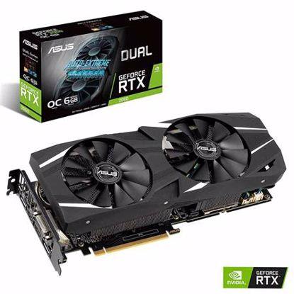 Fotografija izdelka ASUS DUAL GeForce RTX 2060 OC 6GB GDDR6 (DUAL-RTX2060-O6G) grafična kartica