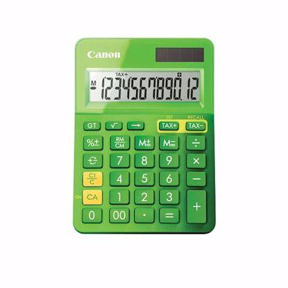 Fotografija izdelka Kalkulator CANON LS-123K  zelene barve