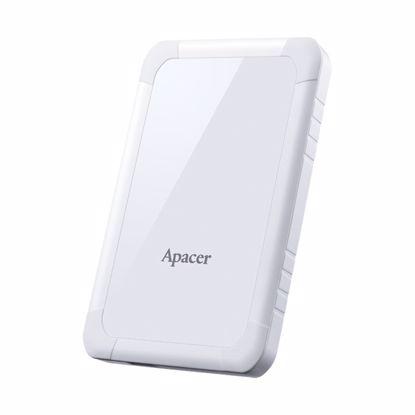"Fotografija izdelka APACER AC532 Shockproof 1TB USB3.1 2,5"" bel (AP1TBAC532W-1) zunanji trdi disk"