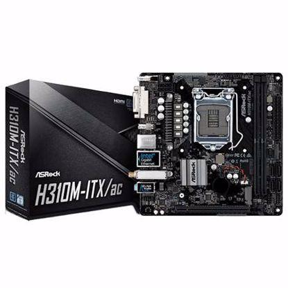 Fotografija izdelka ASROCK H310M-ITX/AC Mini-ITX osnovna plošča