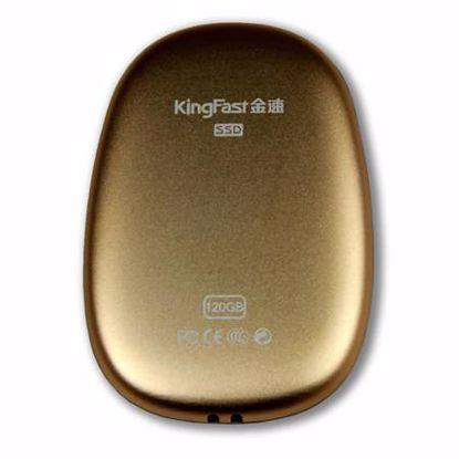 Fotografija izdelka Kingfast Portable SSD P610 120GB Type-C (kingfast-portable-p610-120gb) zunanji SSD