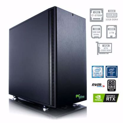 Fotografija izdelka PCPLUS Dream machine i7-9700K 32GB 500GB NVMe SSD + 2TB HDD GeForce RTX 2080 8GB