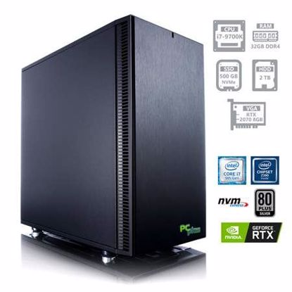 Fotografija izdelka PCPLUS Dream machine i7-9700K 32GB 500GB NVMe SSD + 2TB HDD GeForce RTX 2070 8GB W10PRO