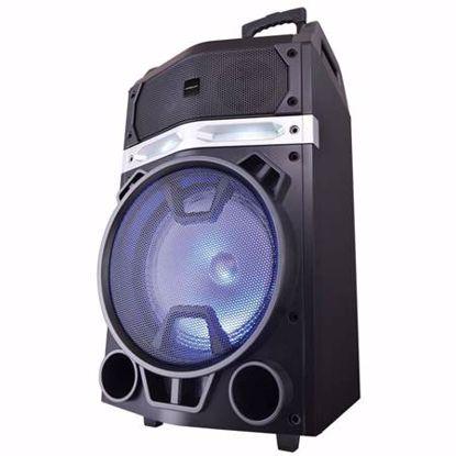 Fotografija izdelka MEDIACOM MusicBox Monster 180W LED Bluetooth zvočnik