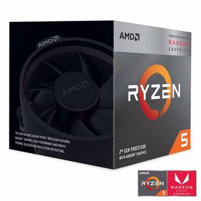 Fotografija izdelka AMD Ryzen 5 3400G 3,7/4,2GHz 4MB AM4 Wraith Spire hladilnik Radeon RX Vega 11 BOX procesor