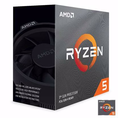 Fotografija izdelka AMD Ryzen 5 3600 3,6/4,2GHz 32MB AM4 Wraith Stealth hladilnik BOX procesor