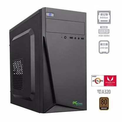 Fotografija izdelka PCPLUS i-net Athlon 200GE 4GB 240GB SSD W10PRO