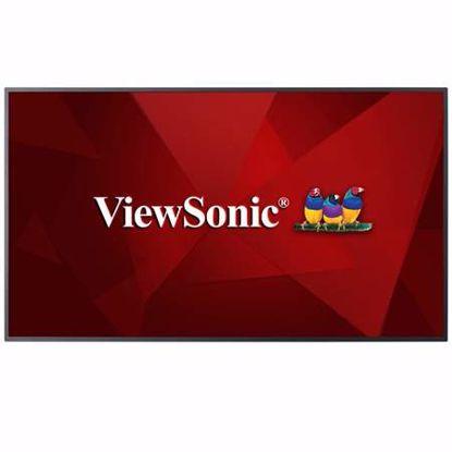 """Fotografija izdelka VIEWSONIC CDE5010 50"""" 4K zvočniki DLED informacijski zaslon"""