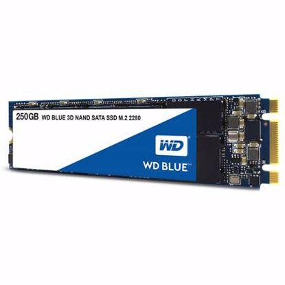 Fotografija izdelka WD Blue 3D NAND 250GB M.2 2280 SATA3 (WDS250G2B0B) SSD